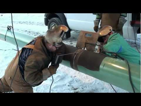 Pipeline Welding A Day On The Hot Pass