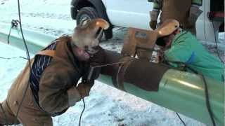 Pipeline Welding  -  A Day On The Hot Pass