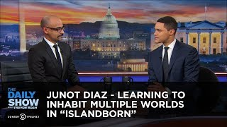"""Junot Diaz - Learning to Inhabit Multiple Worlds in """"Islandborn"""" 
