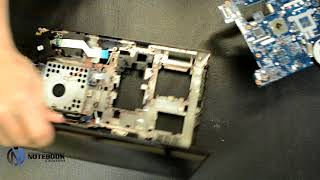 Lenovo G580 - Disassembly and cleaning