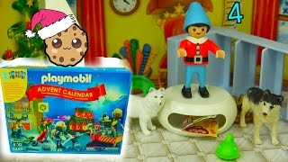 Playmobil Holiday Christmas Advent Calendar - Toy Surprise Blind Bags  Day 4