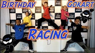 Birthday Go-Kart Racing | Ninja Kidz TV