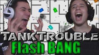 ÁTMÉSZ A FALON?! | Flash BANG - Tanktrouble