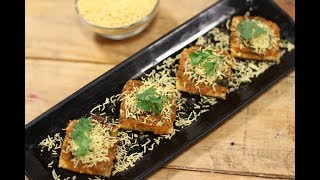 Open Masala Toast In Gujarati   Snacky Ideas by Amisha Doshi   Sanjeev Kapoor Khazana