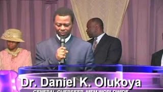 Dr  D K Olukoya - Connecting to the resurrection power - Manna Water March 2016