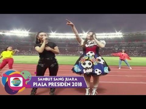 Zaskia Gotik dan Via Vallen - Cinta Terbaik   Piala Presiden 2018