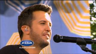 Luke Bryan FULL GMA Performance | LIVE 8 7 15