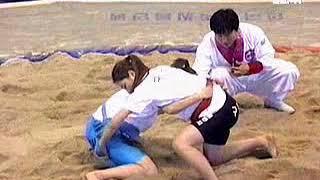 김민지(구리) vs 홍선희(대구) 여자씨름 박빙대결