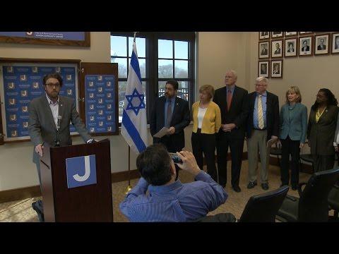 Leaders visit JCC, seek unity after threats