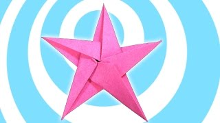DIY: 5 Pointed Origami Star Christmas Ornaments Tutorial