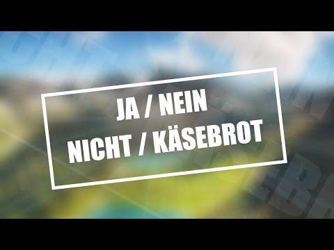 DUMME JA/NEIN/NICHT/KÄSEBROT CHALLENGE #2!