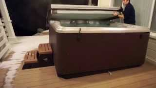 Using the Hot Tub