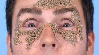 Sand In Eyes!
