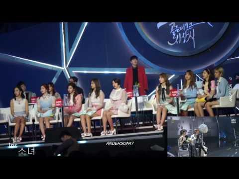 TWICE reaction to Baekhyun and Suzy ''Dream'' GDA 2016
