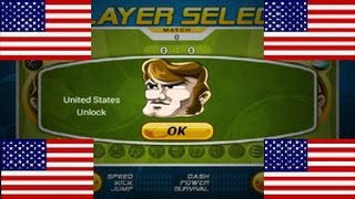 Head Soccer - How to Unlock United States of America