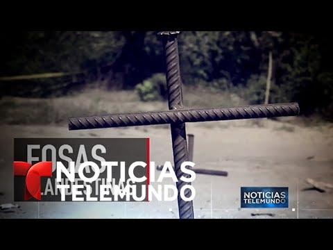 La terrible historia de las fosas clandestinas en México   Noticiero   Noticias Telemundo