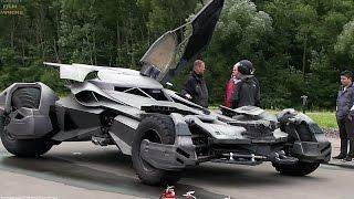 Batmobile 'Batman v Superman' Featurette [+Subtitles]