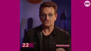 #GirlsCount | Bono - 22