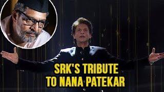 Chala Hawa Yeu Dya | Shahrukh Khan Pays Tribute To Nana Patekar's Natsamrat!