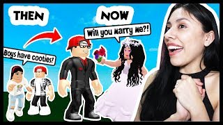 I GOT MARRIED IN ROBLOX TO MY CHILDHOOD CRUSH! - Roblox Roleplay - Growing Up
