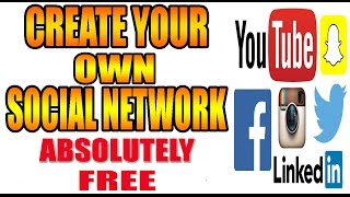 How to create a free social network in urdu/hindi tutorial