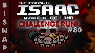 Custom The Binding of Isaac Challenge Run 80 - Cyborg Kitty