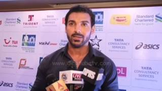 Bollywood HOTTEST Actor John Abraham Contributes In Marathon For NGOs