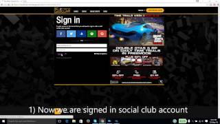gta v pc linked wrong social club account (fix)
