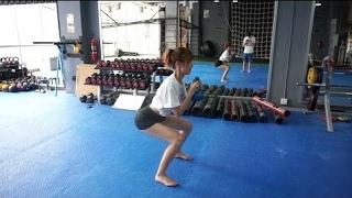 Working Out with a Hot Korean Model: Bangkok VLOG #26 ♥ ♡ ♫ ♪ ☂