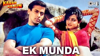 download free Ek Munda - Video Song | Karan Arjun | Salman Khan & Mamta Kulkarni | Lata Mangeshkar