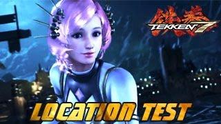 Tekken 7: FR | Location Test Part 3 (Jin, Nina, Hwoarang, Shaheen, Chloe, Asuka, Xiaoyu etc)