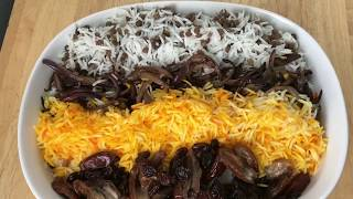 Adas Polo Persian Rice With Lentils