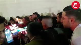 شاهد احمد شيبه يقلب فرح ابن عبدالباسط حموده اول وصوله