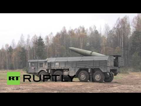 Russia: Military drills in Leningrad utilise