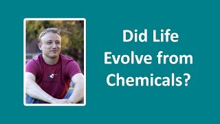 Did Life Evolve From Chemicals? Talk By Jon Perry - Feb 2018