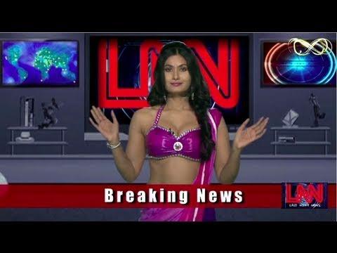 Twin peaks : Savita bhabhi strips Barkha Dutt in LNN