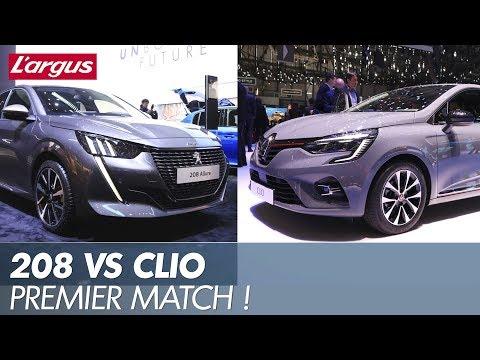 Peugeot 208 II Allure vs Renault Clio 5 Intens le match du cœur de gamme