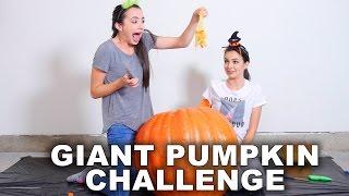 Giant Pumpkin Challenge - Merrell Twins