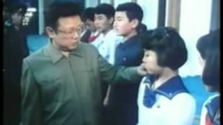 Ким Ир Сен среди детей ч.2