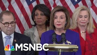 House Dems Charge Trump With 'High Crimes And Misdemeanors' In Two Articles Of Impeachment   MSNBC