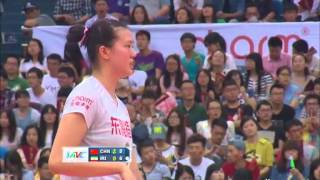 china vs iran - 2015 Asian Women's Volleyball Championship