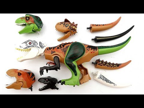 Xxx Mp4 Dinosaur For Kids Funny Wrong Heads And Tails Video Jurassic World Dinosaur Toys 혼종공룡 3gp Sex