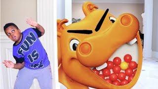 HUNGRY HUNGRY HIPPO vs Shiloh and Shasha - Onyx Kids