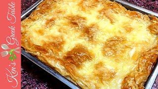 How To Make Galaktoboureko - Greek Galaktoboureko Recipe | Ken Panagopoulos