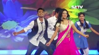 Nusrat Faria Dance  Satv Eid Dance Program