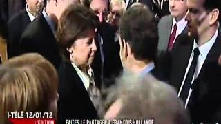 Martine Aubry - Clash Sarkozy
