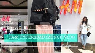 H & M Hyderabad Launch Vlog |H & M Haul| Priyanka Boppana