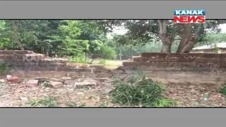 Elaphant Herd Strolls Into College Campus In Athagad