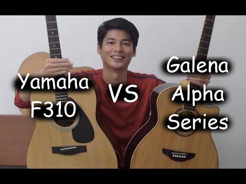 Galena Alpha Series VS Yamaha F310