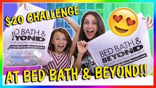 $20 BED BATH & BEYOND TOY CHALLENGE   We Are The Davises